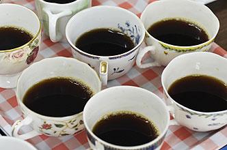 じゃ豆オリジナルコーヒー試飲